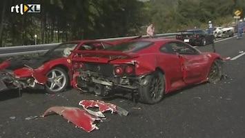 RTL Nieuws Ferrarirace loopt flink uit de hand