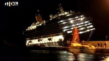 RTL Nieuws Cruiseongeluk 'leek wel Titanic'