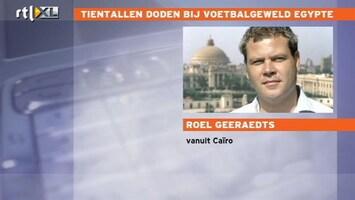 RTL Nieuws Egyptisch voetbalgeweld verrast niet