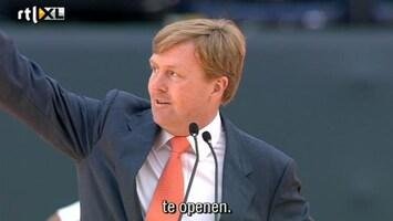 RTL Nieuws Koning opent Jeugd Olympisch Festival
