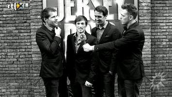 RTL Boulevard Cast musical Jersey Boys maakt uitstapje naar Londen