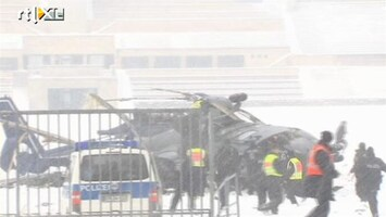 Editie NL Politieheli's knallen op elkaar