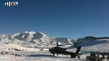 RTL Nieuws Apache in Afghanistan crasht na stunt