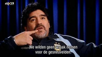 Beste Voetballers Ooit, De De Beste Voetballers Ooit Maradona /2