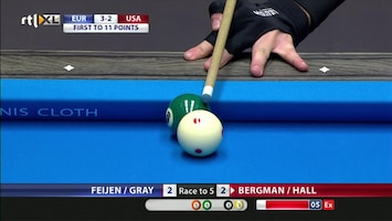 Pool: Mosconi Cup - Afl. 2