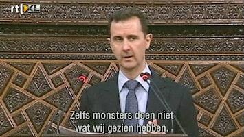 RTL Nieuws Assad: 'Bloedbad Houla was daad van terroristen'
