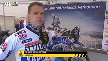 RTL GP: Dakar Pre-proloog Interview Frans Verhoeven