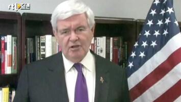 RTL Nieuws Gingrich stapt uit presidentsrace VS