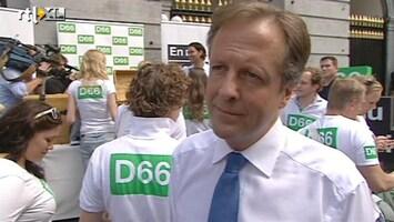 RTL Nieuws Campagne barst los: Pechtold deelt 'gratis geld' uit