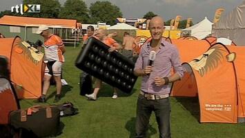 RTL Nieuws Oranjelegioen arriveert in Londen