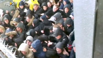RTL Nieuws Nieuw beeld rellen Utrechtstadion