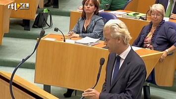 RTL Nieuws Geert Wilders: 'U kunt allemaal de boom in'