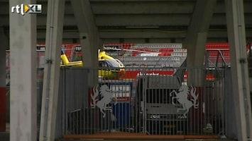 RTL Nieuws Zoeken naar oorzaak instorten Twente-dak