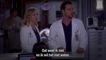 Grey's Anatomy Get up, stand up