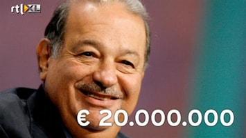 RTL Nieuws Carlos Slim verdient 20 miljoen per dag