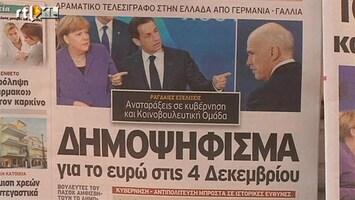 RTL Nieuws Papandreou vecht voor baan en economie