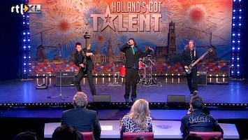 Holland's Got Talent From Heavens Expelled (zang)