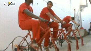 RTL Nieuws Criminelen fietsen voor vrijheid