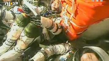 RTL Nieuws Chinese astronauten veilig geland
