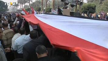 RTL Nieuws Groot protest voor president Egypte