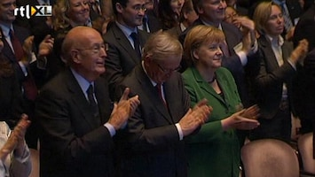 RTL Nieuws Opnieuw overleg Merkel en Sarkozy over crisis