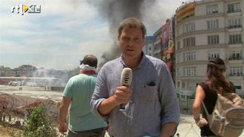 RTL Nieuws Turkse politie veegt Taksimplein schoon