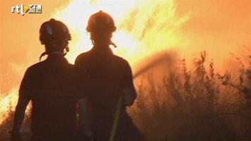 RTL Nieuws Hevige bosbrand in Spanje