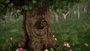 Sprookjesboom Wie is er bang in het donkere bos?