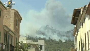 RTL Nieuws Bosbranden in Mallorca
