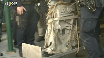 RTL Nieuws Brokstuk vliegtuig 9/11 opgeruimd