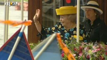 RTL Boulevard Koningin brengt streekbezoek aan Friesland