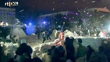 RTL Nieuws Grootste sneeuwballengevecht ooit