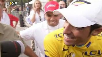 RTL Nieuws Persconferentie Contador over doping