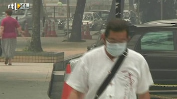 RTL Nieuws Smog uit Indonesië naar Maleisië