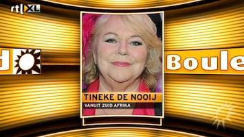 RTL Boulevard Tineke de Nooij woest