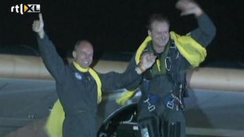 RTL Nieuws Zonnevliegtuig landt na tocht door VS in New York