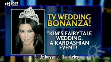 RTL Boulevard Voorbereidingen huwelijk Kim Kardashian