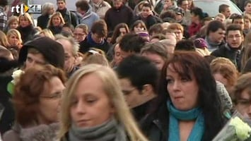 RTL Nieuws Stille tocht voor slachtoffers Luik