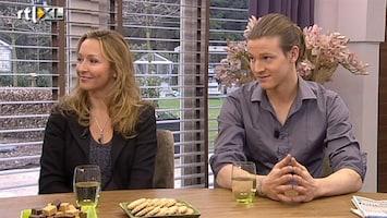 Koffietijd Cynthia en Guido