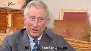 RTL Nieuws Prins Charles glundert bij gedachte aan eerste kleinkind