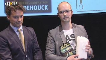 RTL Nieuws Bram Dehouck schrijft beste Nederlandstalige thriller