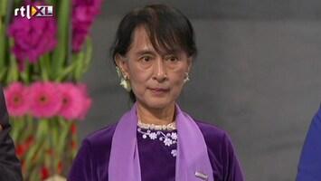 RTL Nieuws Aung San Suu Kyi's Nobelprijsspeech
