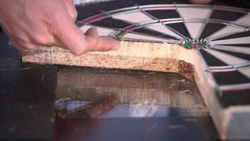 Hoe wordt een dart bord gemaakt?