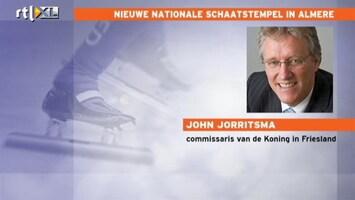 RTL Nieuws 'Topwedstrijden nog in Thialf, mark my words'