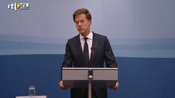 RTL Nieuws Rutte: Van Rey beter niet op kandidatenlijst