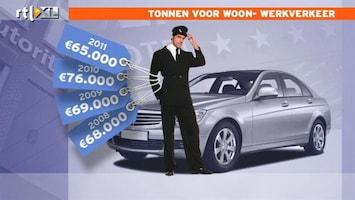 RTL Nieuws Bestuurder AFM kreeg tonnen voor woon-werkverkeer