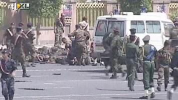 RTL Nieuws Chaos en paniek na aanslag Jemen