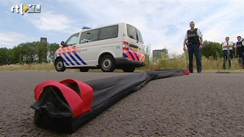RTL Nieuws Politie gaat door met inzetten spijkermatten