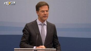 RTL Nieuws Oproep Rutte hielp niets: hand blijft op de knip