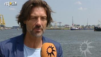 RTL Boulevard Rick Engelkes gewond tijdens opnames Verliefd op Ibiza